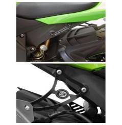 Support de Silencieux R&G Kawasaki ZX6R (09-13)