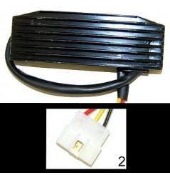Redresseur / Régulateur Moto pour 800 Intruder (96-05) 1400 Intruder (96-07)