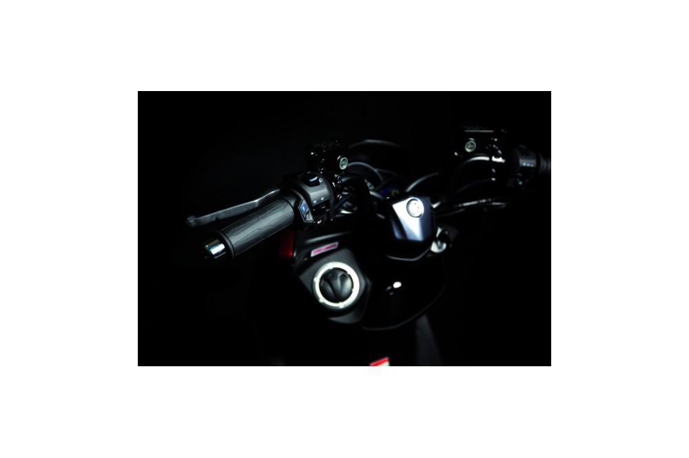 Poignées Chauffantes TG Gold pour Moto, Longeur 120mm