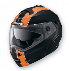 Casque Moto Modulable CABERG DUKE LEGEND Noir - Orange