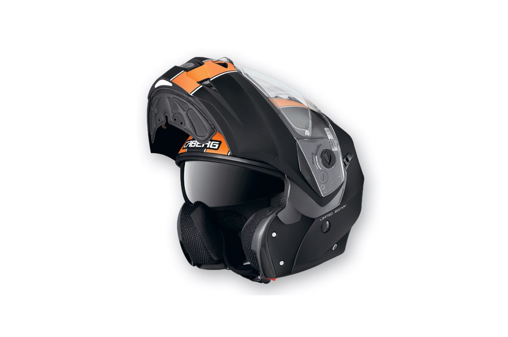 Casque Caberg DUKE LEGEND Matt/Black/Orange