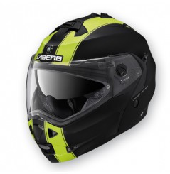 Casque Moto Modulable CABERG DUKE LEGEND Noir - Jaune