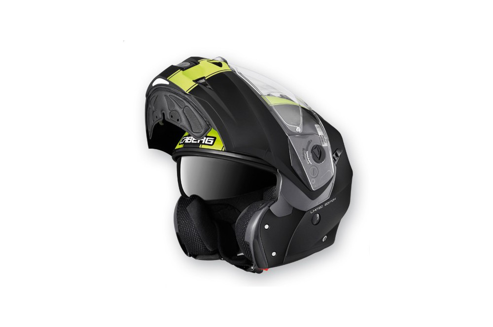 Casque Caberg DUKE LEGEND Matt/Black/Yellow Fluo
