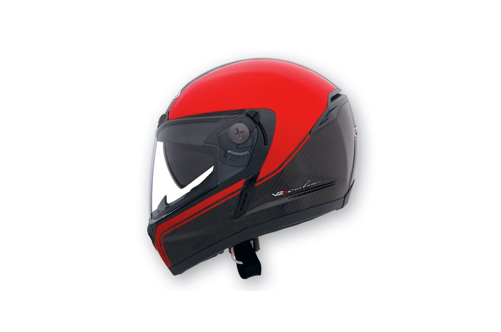 Casque Caberg V2X CARBON EDGE Black/Red