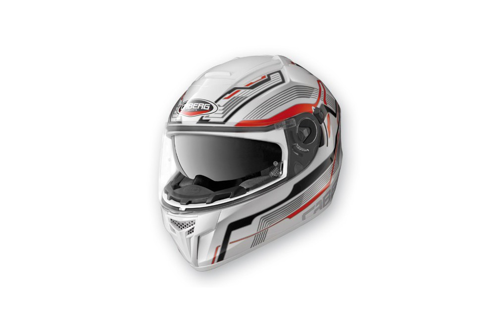 Casque Caberg EGO STREAMLINE White/Red