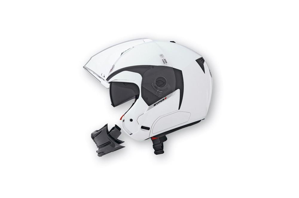 Casque Caberg HYPER X Metal White