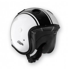 Casque Jet Caberg DOOM LEGEND Blanc - Noir