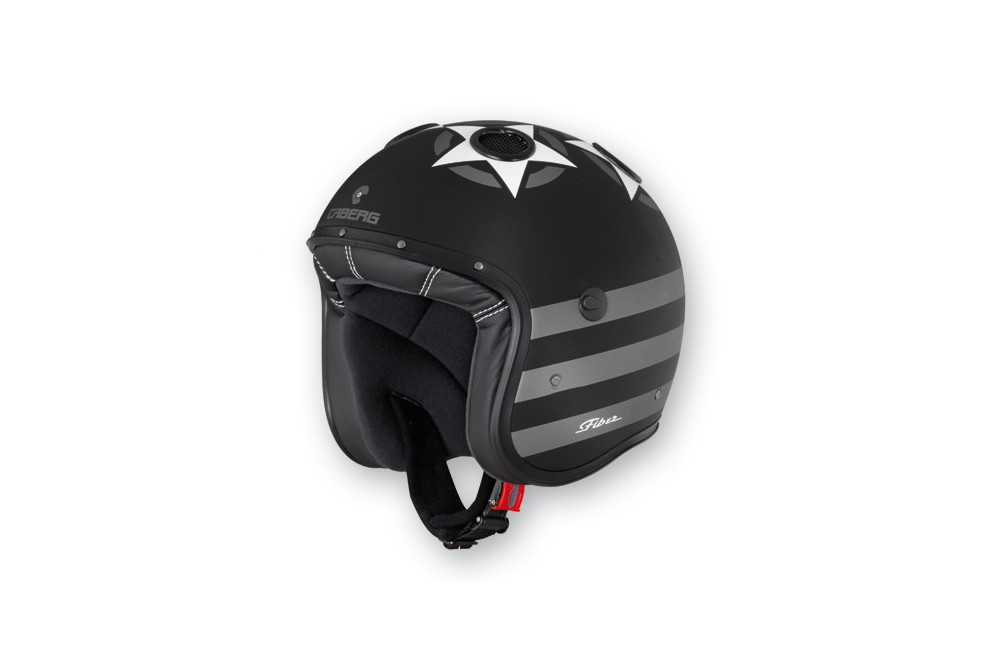 Casque Caberg DOOM PATRIOT Matt Black/White