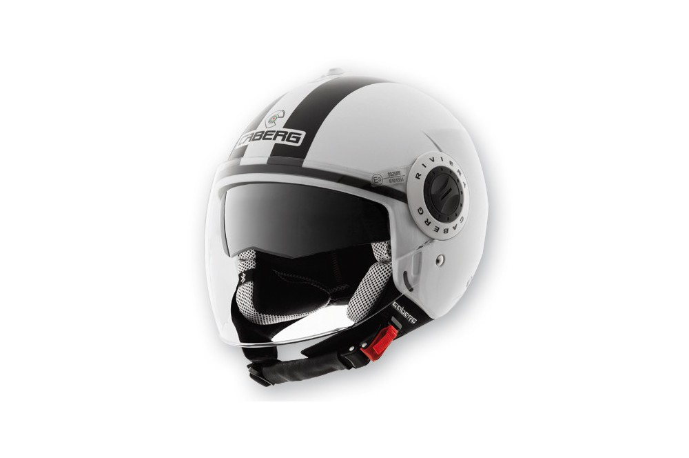 Casque Caberg RIVIERA V2+ LEGEND White/Black