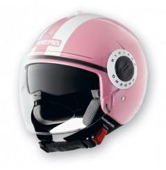 Casque Caberg RIVIERA V2+ LEGEND Pink/White