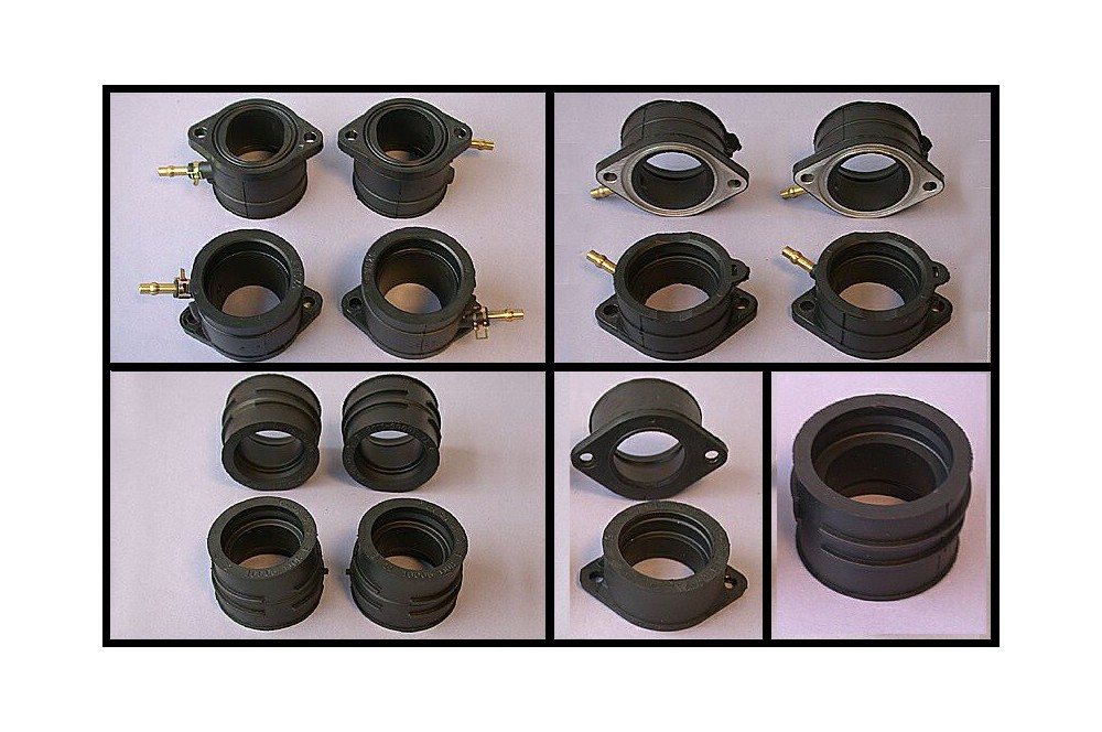 Kit pipes d'admission Moto pour CBR1000F de 1989 a 1992
