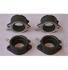 Kit pipes d'admission Moto pour ZX10 Ninja (88-90) et Tomcat (88-89)