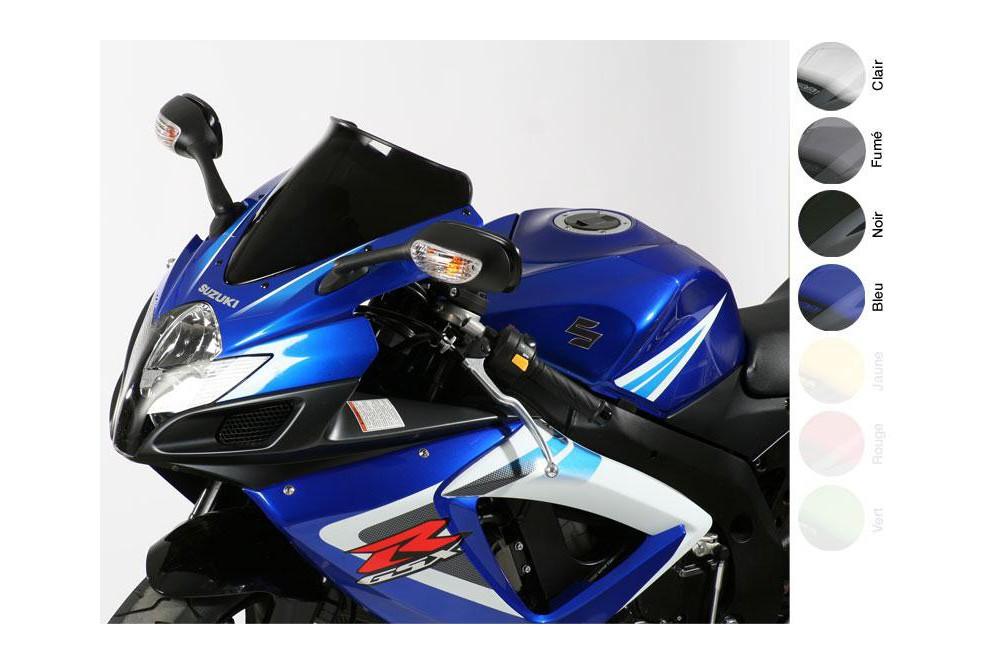 Bulle Moto MRA Type Sport +10mm pour Suzuki GSXR 600