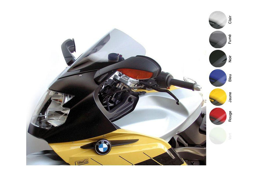 Bulle Moto MRA Type Racing +55mm pour Bmw K 1200 S