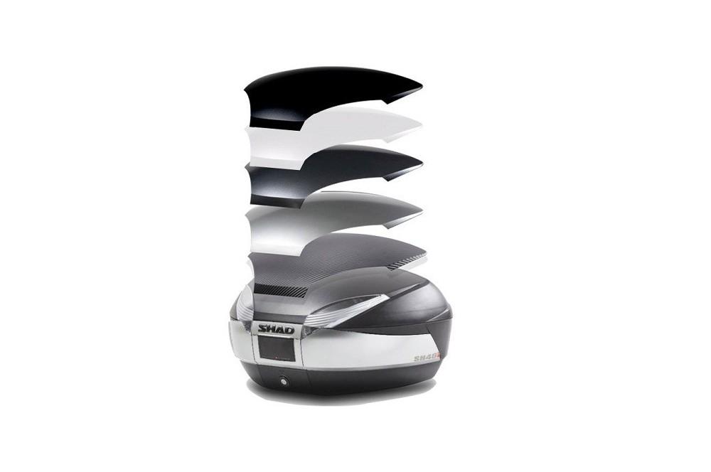 Top case SH48 New Titanium