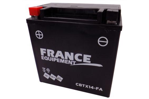 Batterie Moto CBTX14-FA (YTX14 / BTX14)