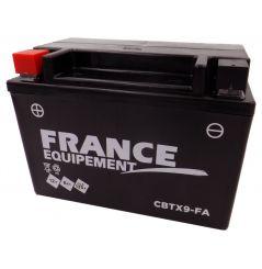 Batterie Moto CBTX9-FA (YTX9 / BTX9)