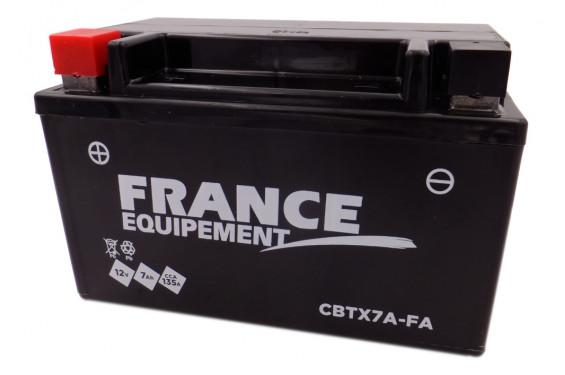 Batterie Moto CBTX7A-FA ( YTX7A-BS / BTX7A-BS )