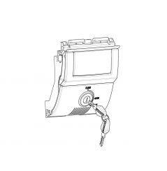 Kit Serrure Shad pour Top Case SH58X et SH59X