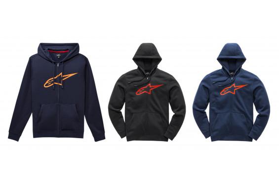 Sweat-Shirts Zippé à Capuche ALPINESTARS AGELESS II 2021
