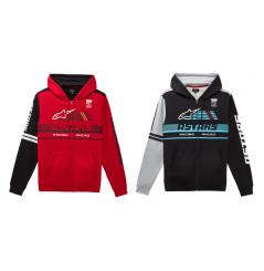 Sweat-Shirts Zippé à Capuche ALPINESTARS OVERTAKE 2021