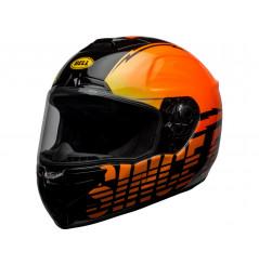 Casque Moto BELL SRT PROVERB 2021 Orange - Noir
