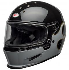 Casque Moto BELL ELIMINATOR STOCKWELL 2021 Noir - Blanc