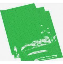 Planches Adhésives CRYSTALL Respirante Vert Moto / Quad