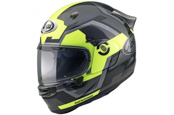 Casque Moto ARAI QUANTIC FACE Jaune Fluo 2021