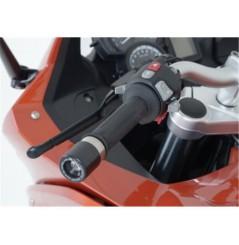 Protection / Embout de guidon R&G pour F800GT (13-15)