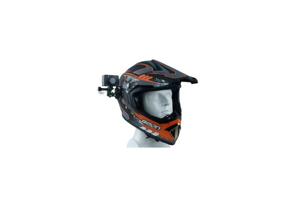 support casque pour magicam aee sd 21 23 s70 s71 street moto piece. Black Bedroom Furniture Sets. Home Design Ideas