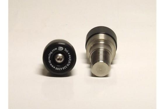 Protection / Embout de guidon R&G pour YZF-R6 de 99-05