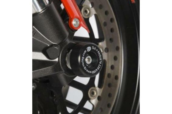 Roulettes de protection de fourche R&G pour Shiver 900 (17-21)