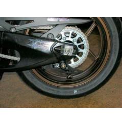 Pions / Diabolo de levage racing R&G pour Ninja 125 ABS (19-21)
