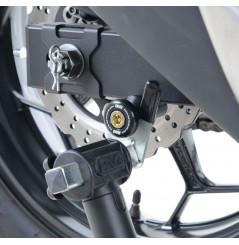 Pions / Diabolo de levage racing R&G pour Kawasaki Z300 (16-18)