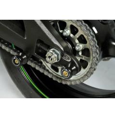 Pions / Diabolo de levage déporté racing R&G pour Ninja ZX-6R (19-21)