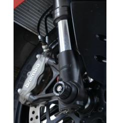 Roulettes de protection de fourche R&G pour Panigale V4 R - S (18-21)