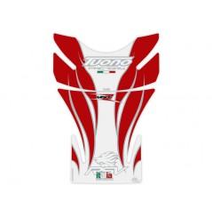 Protection de Réservoir Moto Blanc - Rouge pour APRILIA Tuono - RSV4 - RSV
