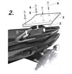 SUPPORT TOP CASE SHAD SPRINT GT 1050 11