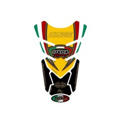 Protection de réservoir moto pour DUCATI Universal Jaune Noir