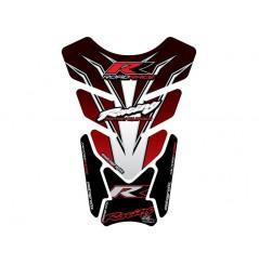 Protection de Réservoir Universel Moto Rouge - Noir - Blanc pour HONDA