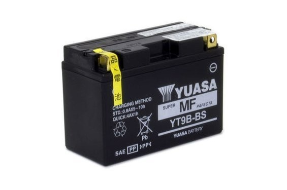 Batterie Yuasa YT9B-BS (YT9B-4)