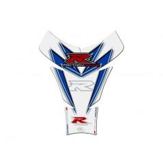 Protection de Réservoir Moto Bleu - Blanc pour SUZUKI GSX-R 600 / 750 / 1000 (05-16)