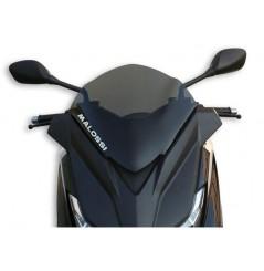 Bulle Sport Fumée Scooter Malossi pour MBK Evolis 250 et 400 (14-17)- Yamaha X-Max 125, 250 et 400 (14-17)
