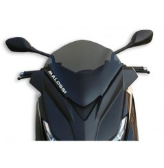 Bulle Sport Fumée Scooter Malossi pour Mbk Evolis - Yamaha X-Max 125 - 250 - 400
