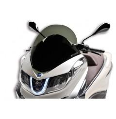Bulle Scooter Malossi Sport Fumée pour Piaggio X10 125 (12-15) X10 350 (12-15) X10 500 (12-15)