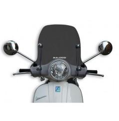 Bulle Scooter Malossi Intermédiaire Fumée pour Vespa LX 125 (04-14) LX 3V (12-14)