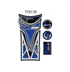 Protection de Réservoir Moto Bleu pour YAMAHA YZF-R 125 (08-19)