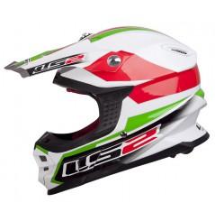 CASQUE LS2 MX456 TUAREG Red-Green