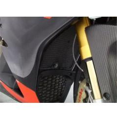 Protection De Radiateur R&G pour RSV4 1000 de (09-14)